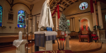 BLESSED MOTHER CHRISTMAS MASS RORATE