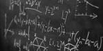 formules mathématiques sur un tableau