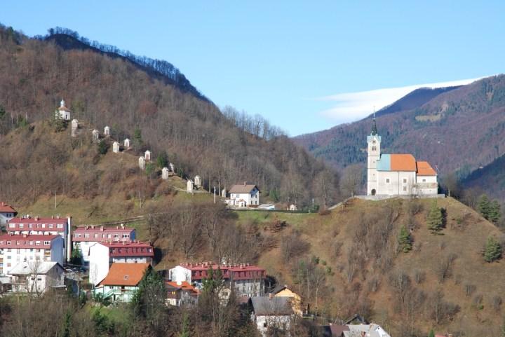 Križevi poti po Sloveniji