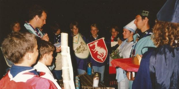 Začetki skavtstva v Sloveniji v fotografijah