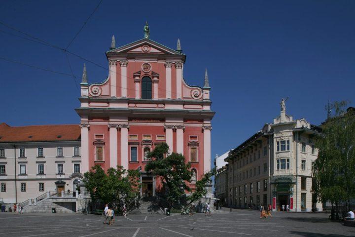 4 slovenske cerkve, posvečene Marijinemu oznanjenju