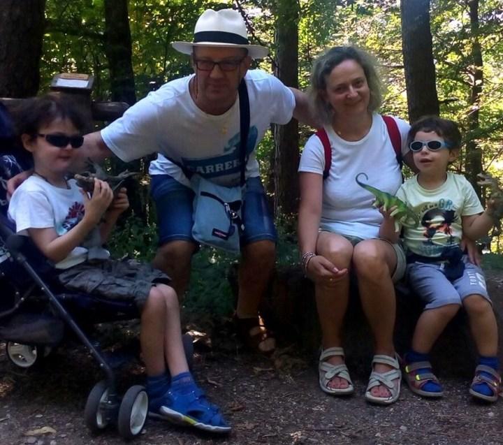 Družinski utrinki družine Baroncini