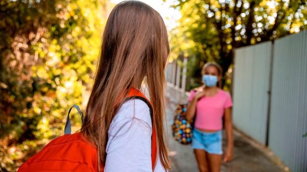 GIRL, SCHOOL, FRIENDS