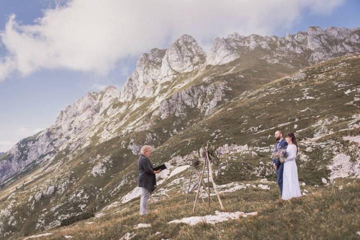 Tamara Bizjak in njene poročne fotografije