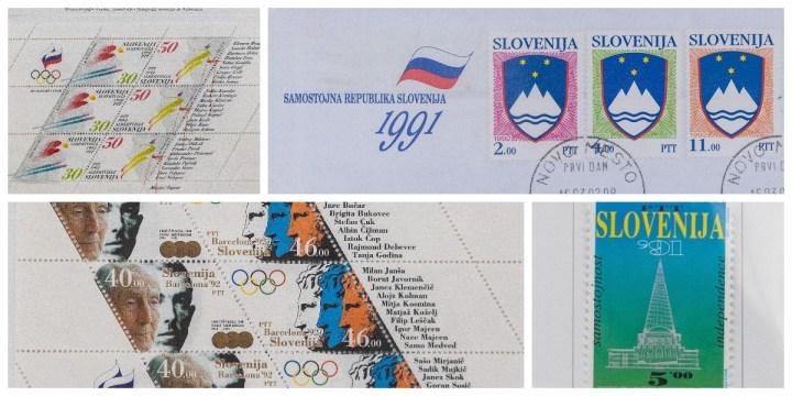 Prve znamke v samostojni Sloveniji