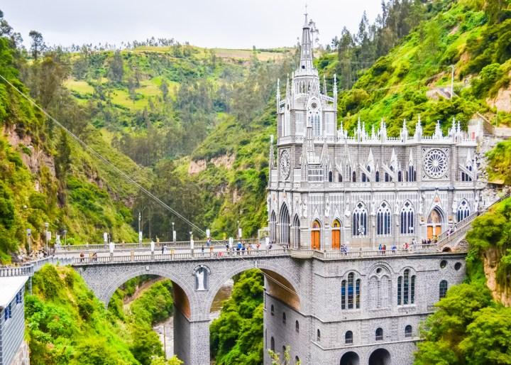 Stolnica Las Lajas v Ipialesu, Kolumbija