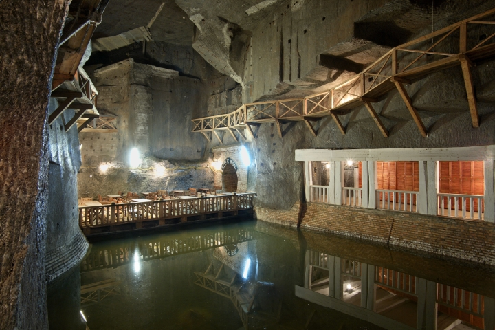 Fotografije čudovitega rudnika na Poljskem