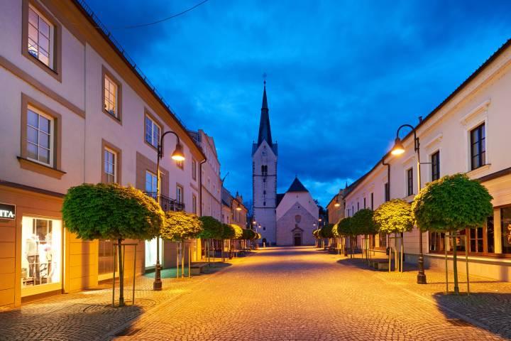 Cerkev svete Elizabete v Slovenj Gradcu 1. del