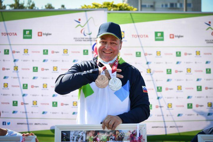 Franček Gorazd Tiršek, lastnik dveh medalj iz Tokia