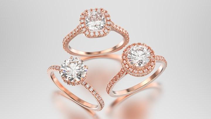 Različne vrste zaročnih prstanov